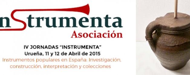 IV Jornadas Instrumenta